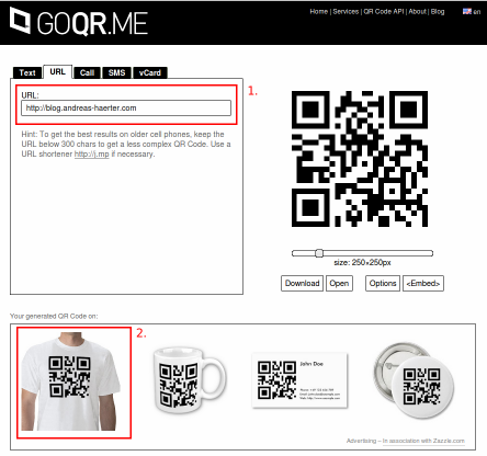 Screenshot: 1. Enter the data 2. Click on the T-shirt symbol to open the apparel shop.